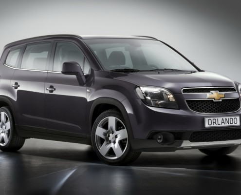 Chevrolet Orlando (7 locuri)
